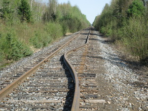 <b>Railway Tracks Leeder Road by P. MacDonald</b>