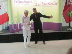 Ontario Volunteer Service Award Ontario Volunteer Service Award 2013 - Connie Childs